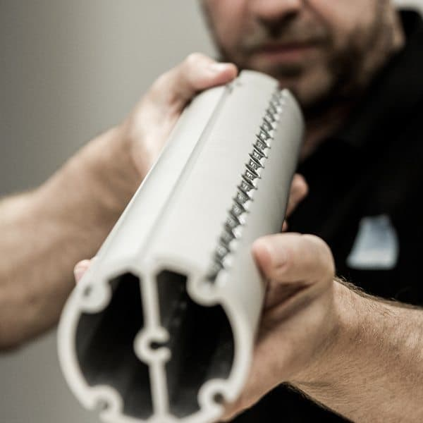 aluminium extrusion in use